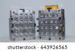 sixteen cavity plastic... | Shutterstock . vector #643926565