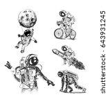 Astronauts Space Mission Poste...