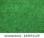 bright artificial grass... | Shutterstock . vector #643951129