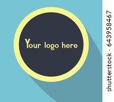 your logo here | Shutterstock .eps vector #643958467
