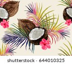 beautiful vector hand drawn... | Shutterstock .eps vector #644010325