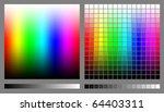 spectrums representing rgb...