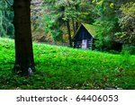 little house in the nature   Shutterstock . vector #64406053