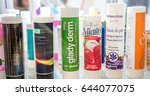 gandhinagar  india   february 9 ... | Shutterstock . vector #644077075