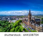Aerial View Of Glasgow ...