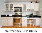 kitchen cabinets n a modern... | Shutterstock . vector #64410925