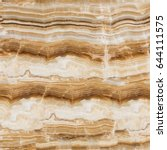 Brown Onyx Stone Texture With...
