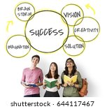 innovation success ideas...   Shutterstock . vector #644117467