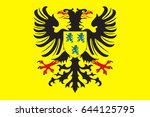 flag of cambrai is a commune in ... | Shutterstock . vector #644125795