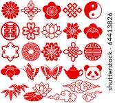 Chinese decorative icons