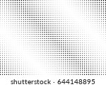 abstract halftone dotted... | Shutterstock .eps vector #644148895