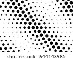abstract halftone dotted...   Shutterstock .eps vector #644148985