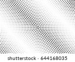 abstract halftone dotted...   Shutterstock .eps vector #644168035