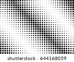 abstract halftone dotted...   Shutterstock .eps vector #644168059