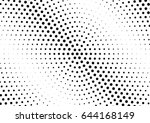 abstract halftone dotted...   Shutterstock .eps vector #644168149