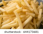 french fries | Shutterstock . vector #644173681
