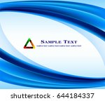 abstract blue background  | Shutterstock .eps vector #644184337