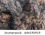rough stones created naturally. ... | Shutterstock . vector #644190919