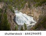 Gibbon Falls At Yellowstone