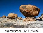 Big Boulders Lying On Top Of A...