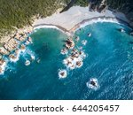 aerial view of the amazing...   Shutterstock . vector #644205457