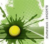 tennis | Shutterstock .eps vector #64420978