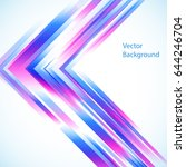 vector abstract background from ...   Shutterstock .eps vector #644246704