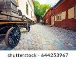 skansen open air museum and zoo ... | Shutterstock . vector #644253967