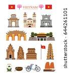vietnam landmarks architecture...
