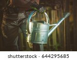 Watering Can Gardening Concept...