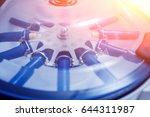 platelet rich plasma... | Shutterstock . vector #644311987