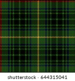 vector plaid pattern  | Shutterstock .eps vector #644315041