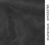 topographic map background...   Shutterstock .eps vector #644333785