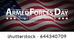 armed forces day template... | Shutterstock .eps vector #644340709