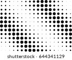 abstract halftone dotted...   Shutterstock .eps vector #644341129