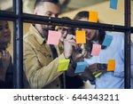 professional matured coach... | Shutterstock . vector #644343211