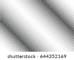 abstract halftone dotted...   Shutterstock .eps vector #644352169