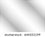 abstract halftone dotted...   Shutterstock .eps vector #644352199