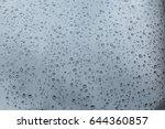 drops on the window beautiful... | Shutterstock . vector #644360857
