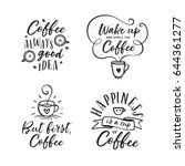 Hand Drawn Coffee Related...