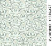 retro grey seamless circle...   Shutterstock .eps vector #644361637