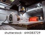 metalworking cnc milling... | Shutterstock . vector #644383729