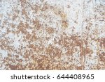 Surface Of Rusty Iron With...