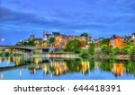 Small photo of Angers Castle and the Maine River - France, Maine-et-Loire
