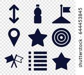 ui icons set. set of 9 ui...