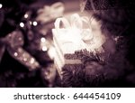 blurred background of... | Shutterstock . vector #644454109