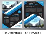 business brochure. flyer design.... | Shutterstock .eps vector #644492857