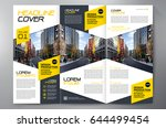business brochure. flyer design.... | Shutterstock .eps vector #644499454