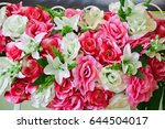 bouquet at the wedding   Shutterstock . vector #644504017
