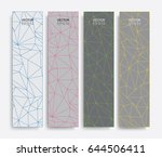 abstract banner background.... | Shutterstock .eps vector #644506411